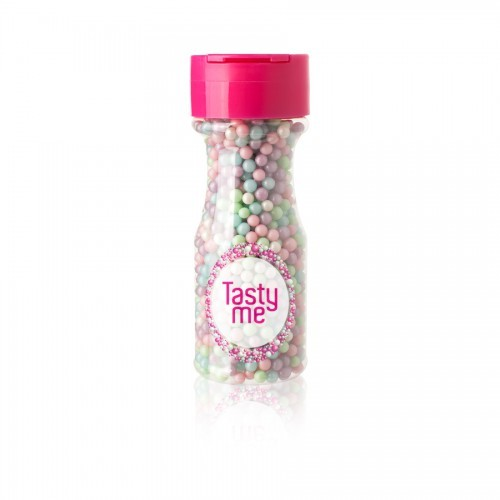 Sugar Perle Pastell Mix 4mm, TM-2072, Dekorationen